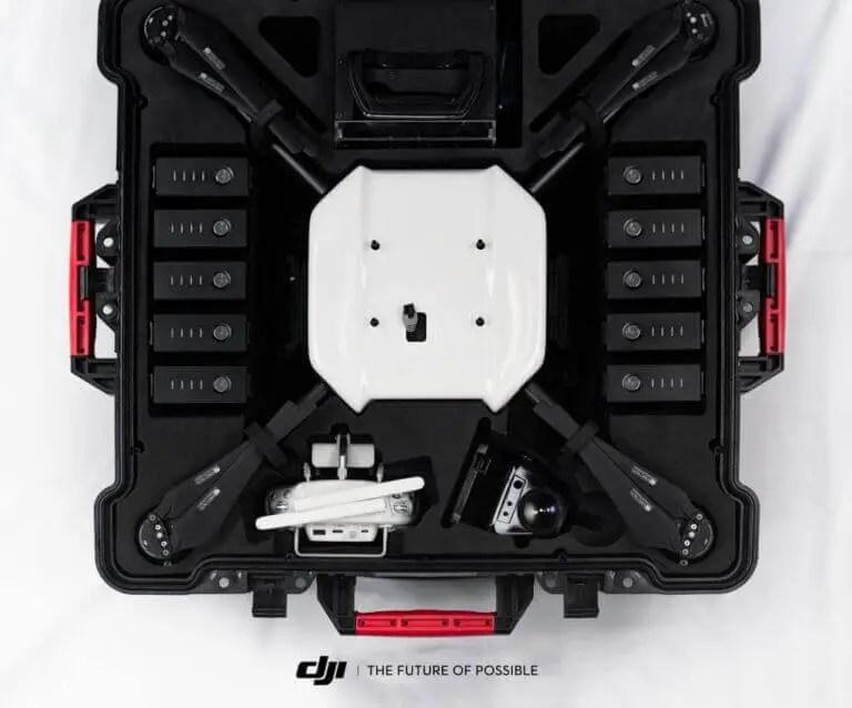 DJI Wind 1 in storage and transport case