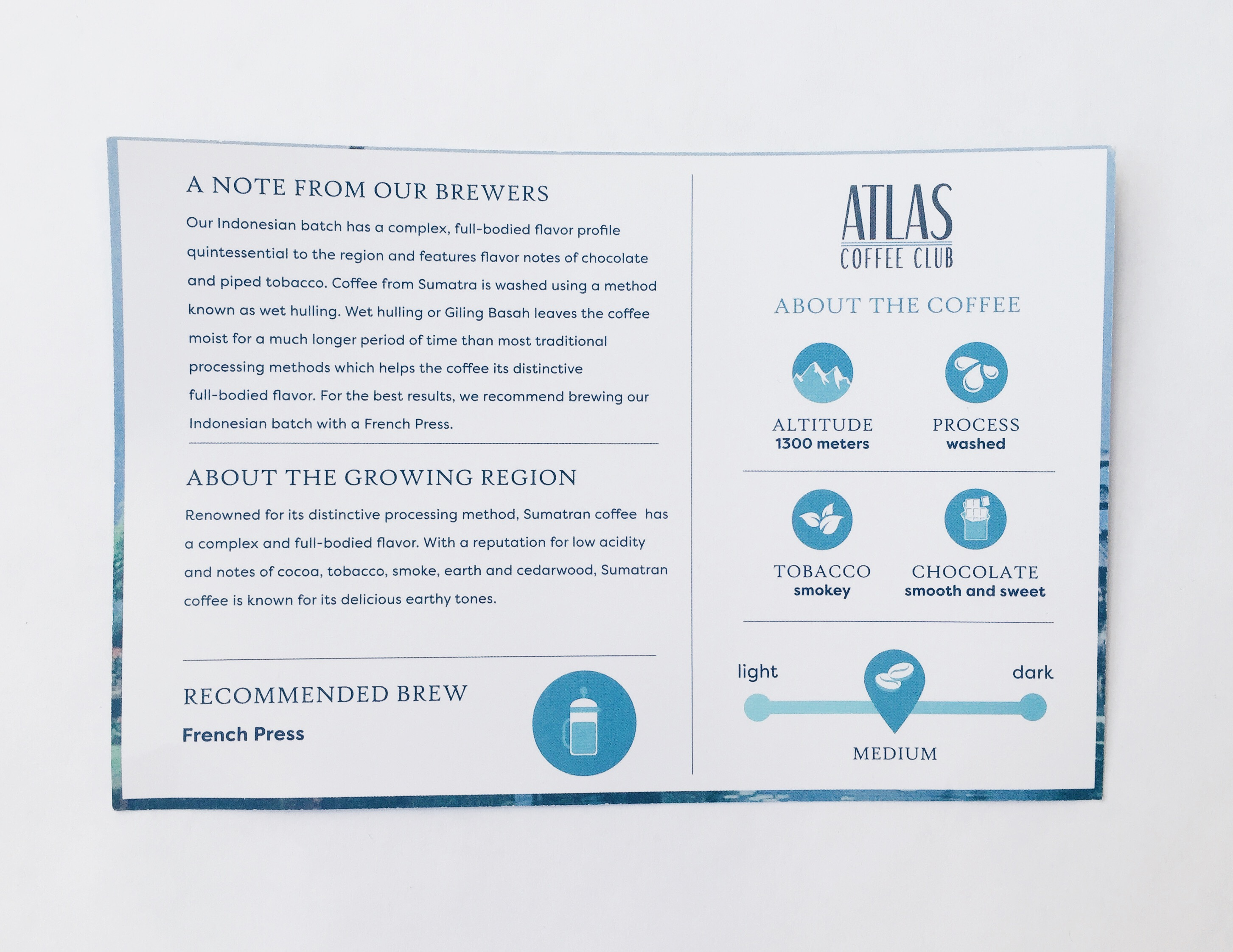 Atlas coupon
