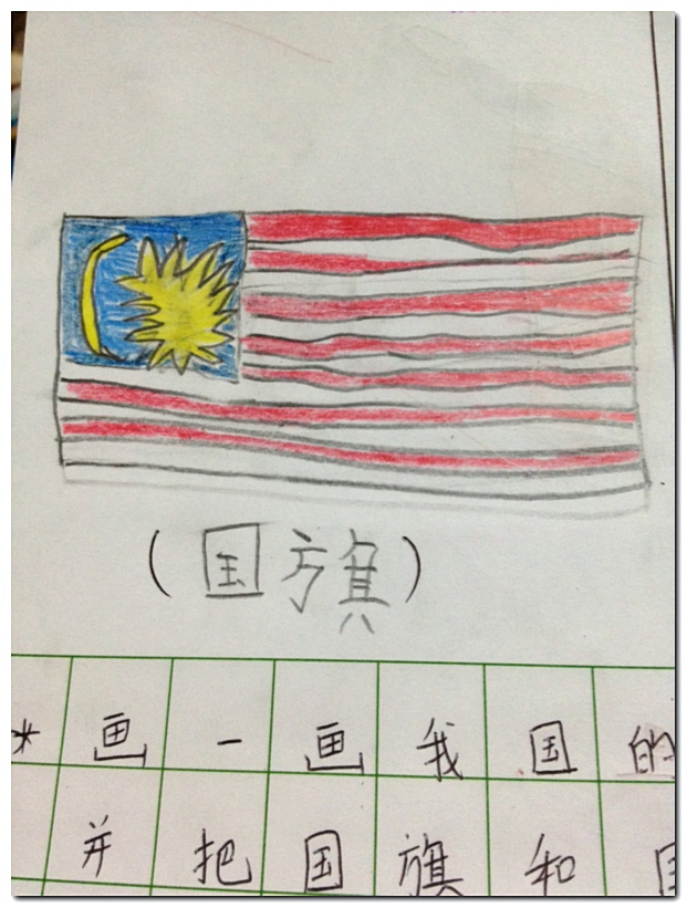 How to draw Malaysia Flag star