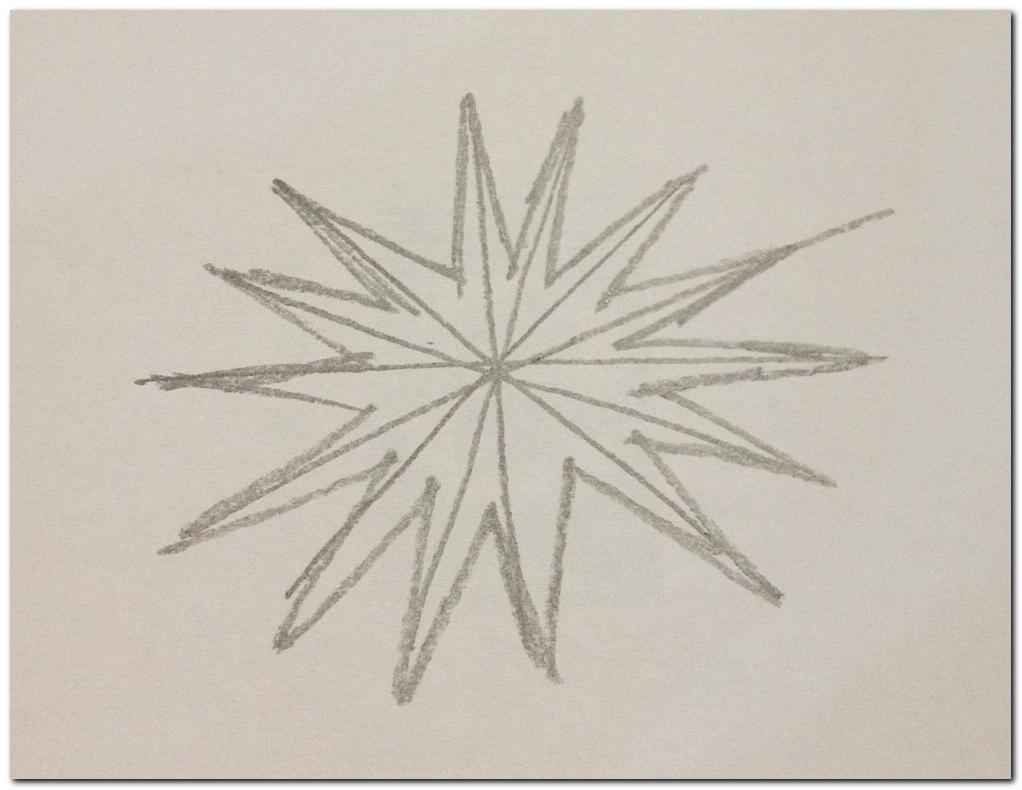 How to draw Malaysia Flag star_2