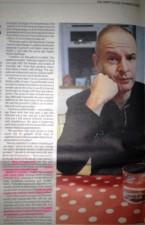 Subodh Gupta yoga instructor Interviewed in Times Newspaper UK