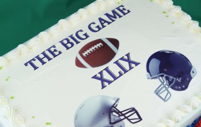 The Big Game Cake