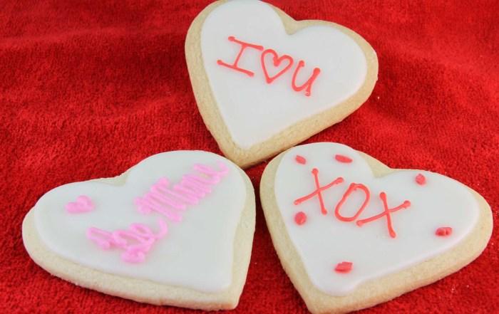 Big Heart Sugar Cookies