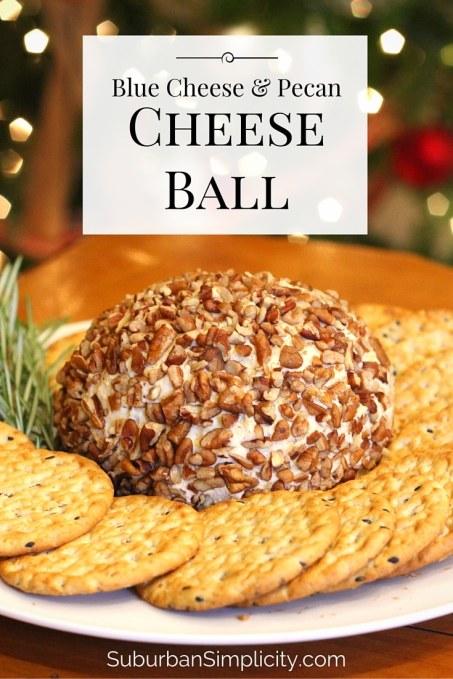 Blue Cheese And Pecan Cheese Ball Suburban Simplicity