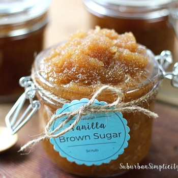 Simple Vanilla Brown Sugar Scrub