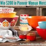 Pioneer Woman Giveaway!!