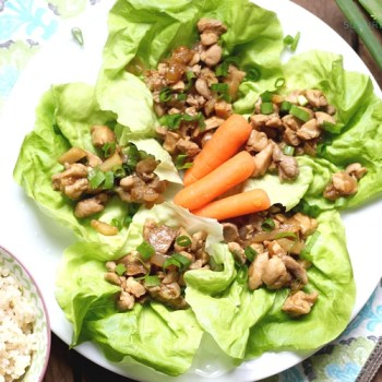 Chicken Lettuce Wraps – A Healthy Comfort Food Recipe