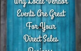 Local Vendor Events