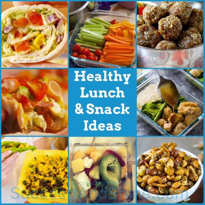 Healthy Lunch and Snack Ideas