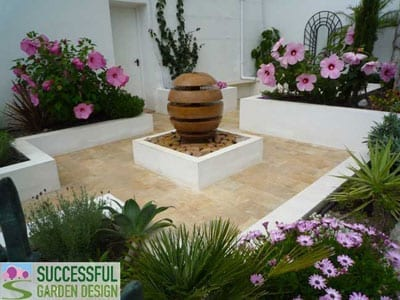 Planting a courtyard garden for Successful garden design