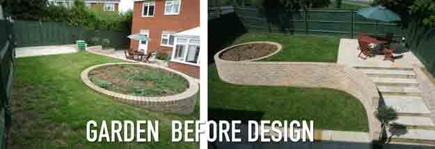 Garden Design SOS – Design rescue, AFTER the landscaper had finished…