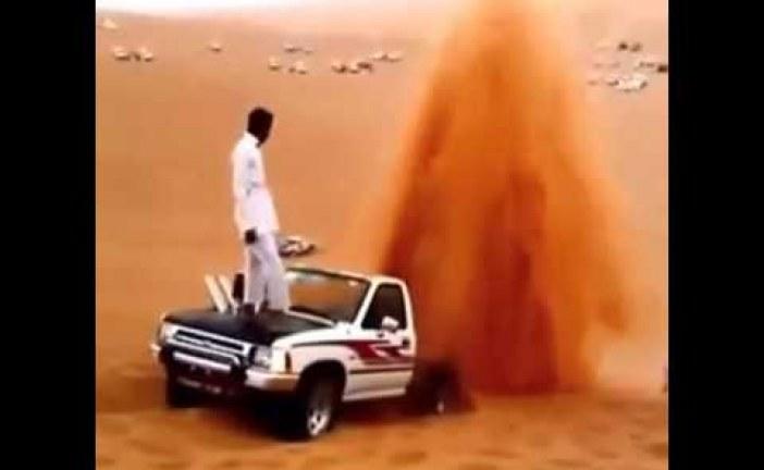 كرااااعي… في الرمال!!!!!