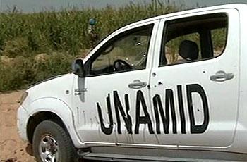 """""""يوناميد"""" تخلي مقار قاعدة عسكرية بغرب دارفور"""