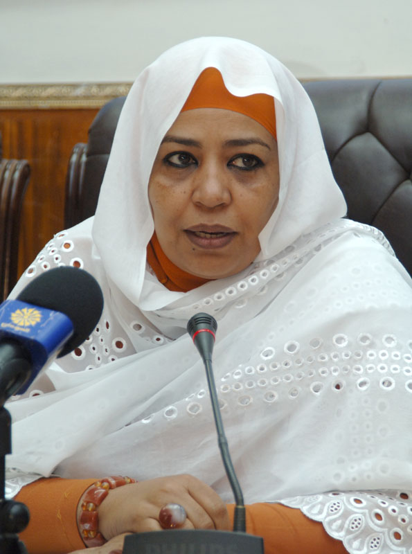 المؤتمر الوطنى: اميرة الفاضل وبدرية مؤهلتنان لشغل منصب نائب رئيس البرلمان