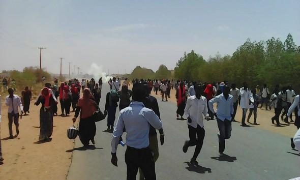 مواجهات وأحداث عنف بين الطلاب بجامعة بحري