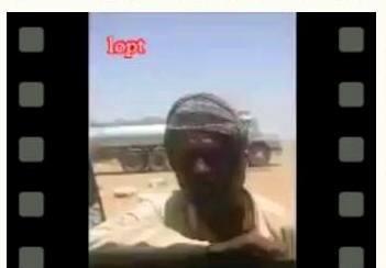 سعوديون هواة يصورون مقطع فيديو مؤثر لراعي سوداني يعيش حياة قاسية في الصحراء !!