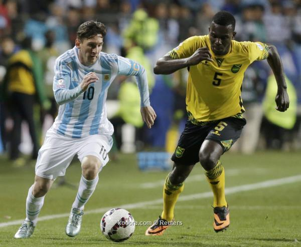 بالفيديو: الأرجنتين ترحم جامايكا في مباراة الفرص الضائعة و تتأهل كأول المجموعة