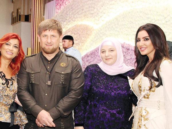 بالصور: رئيس جمهورية الشيشان يشرح فوائد تعدد الزوجات