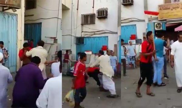 بالفيديو: مضاربة دامية بسبب الفول