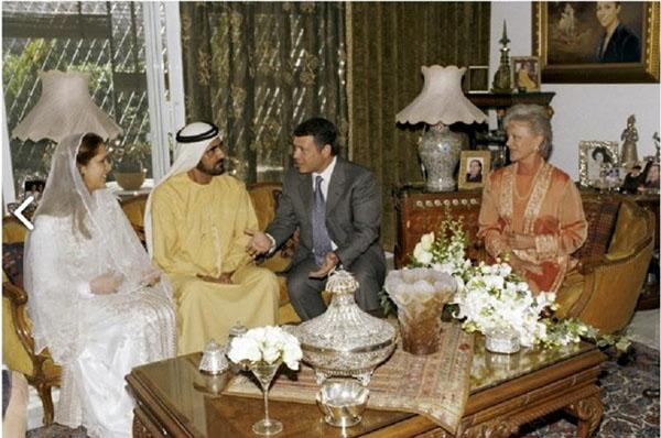 صور نادرة من عقد قران الشيخ محمد بن راشد عام 2004