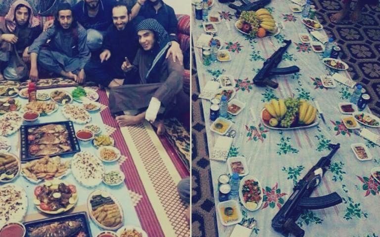 """وجبة إفطار تنهي حياة 45 عنصرًا من داعش في """"رمضان"""""""