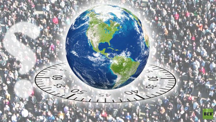 كيف يتغير التعداد السكاني لكوكب الأرض خلال دقيقة واحدة؟