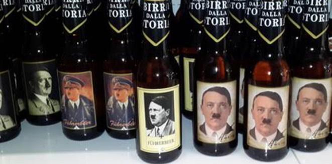"""بالصور: إقبال شديد في إيطاليا على زجاجات خمر """"هتلر"""""""