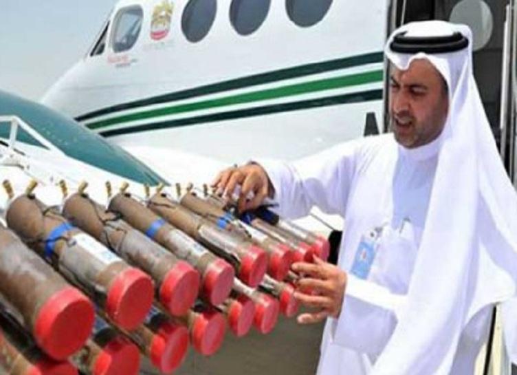 """الإمارات تلجأ إلى """"تلقيح السحب"""" للاستمطار"""