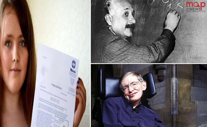 طفلة تتفوق على أينشتاين وستيفن هوكينج فى الذكاء!