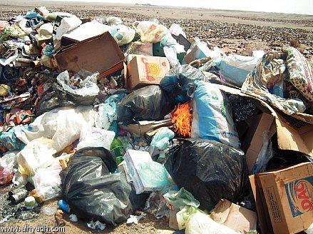 أكوام النفايات.. الخرطوم كادت تختفي