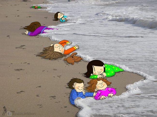 من هو الطفل السوري الغريق الذي هزّ العالم؟ 3b060638-3cdb-4f5a-8b7c-ce192cdaee40