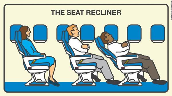 بالصور: تعرف على ركاب الطائرات الأكثر إزعاجاً!
