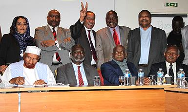 قوى (نداء السودان) تقر مجلس رئاسي وإحلال نظام الحكم بحكومة إنتقالية