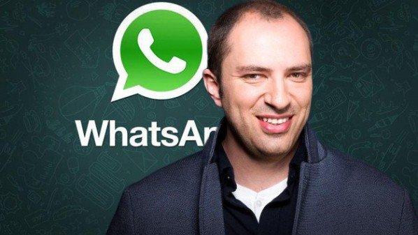 مؤسس واتس اب بيبع ما قيمته 274 مليون دولار من أسهمه في فيس بوك
