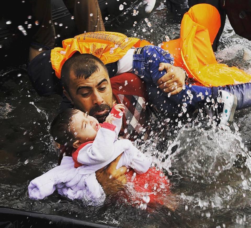 2015 بالصور.. تغريبة اللجوء تهز العالم