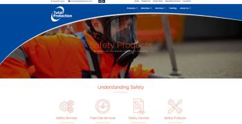 web development for administrate and Total protection business website