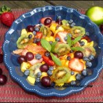 Sweet & Tangy Chili Lime Fruit Salad
