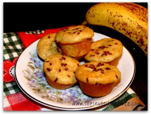 Banana Oat Ricotta Muffins With Flaxseed