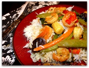 Thai Coconut Shrimp Stir-fry