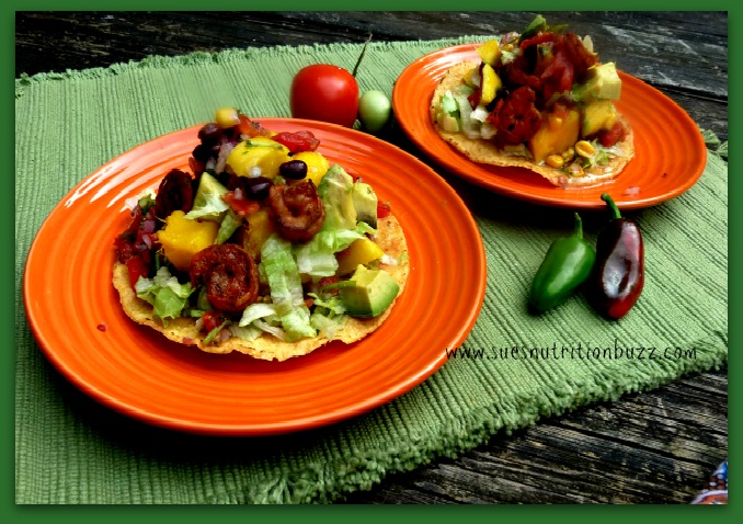 Zippy High Fiber Chipotle Shrimp Mango Tostadas #SundaySupper - Sue's ...