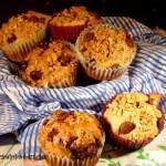 Quinoa Banana Chocolate Muffins