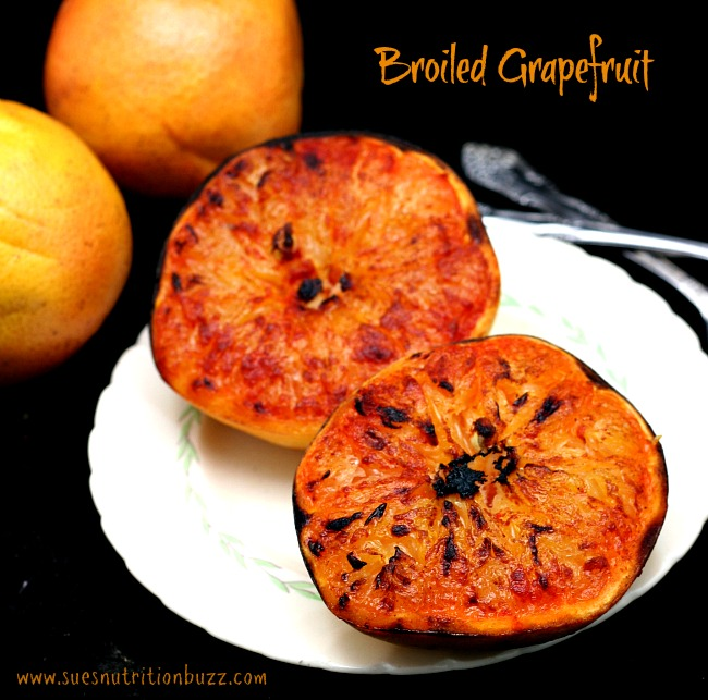 Broiled Grapefruit With Brown Sugar And Ginger Recipe ...