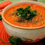 carrot ginger soup 6