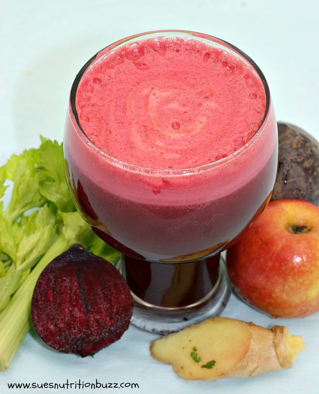 Beet Celery Ginger Apple Juice To Lower Blood Pressure