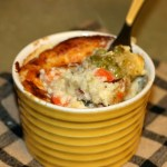 Light Chicken Pot Pies