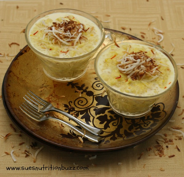 pineapple coconut pudding