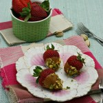 Salted Caramel Strawberries