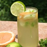 Grapefruit Cucumber Parsley Vitamin water