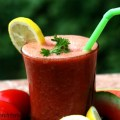 watermelon parsley juice