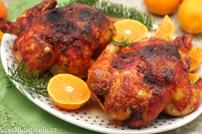 Orange Glazed Cornish Hens-4